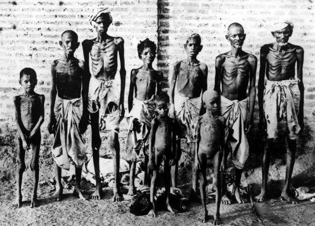 ब्रिटिश शासन में भारतीय लोग